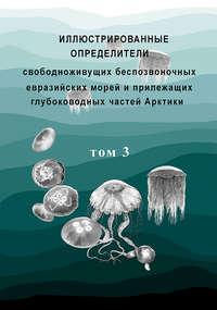 Обложка «Иллюстрированные определители свободноживущих беспозвоночных евразийских морей и прилежащих глубоководных частей Арктики. Том 3»