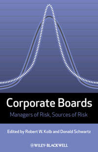 Обложка «Corporate Boards. Managers of Risk, Sources of Risk»