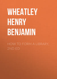 Обложка «How to Form a Library, 2nd ed»