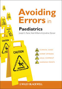 Обложка «Avoiding Errors in Paediatrics»