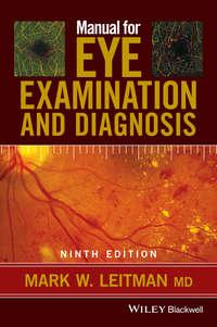 Обложка «Manual for Eye Examination and Diagnosis»