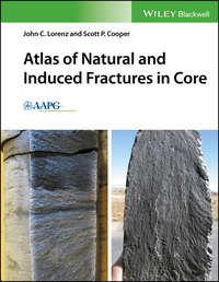Обложка «Atlas of Natural and Induced Fractures in Core»
