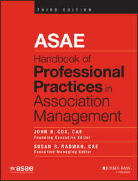 Обложка «ASAE Handbook of Professional Practices in Association Management»