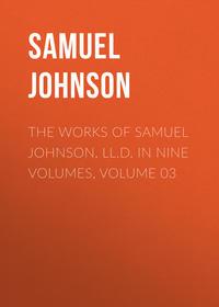 Обложка «The Works of Samuel Johnson, LL.D. in Nine Volumes, Volume 03»