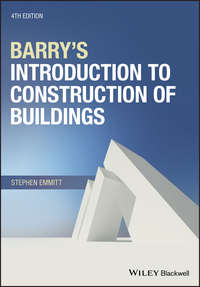 Обложка «Barry's Introduction to Construction of Buildings»