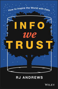 Обложка «Info We Trust. How to Inspire the World with Data»