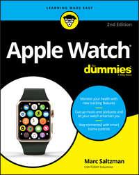 Обложка «Apple Watch For Dummies»