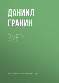 Обложка «Зубр»