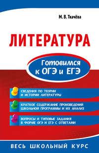 Обложка «Литература. Готовимся к ОГЭ и ЕГЭ»