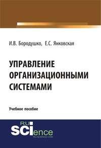Обложка «Управление организационными системами»
