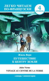 Обложка «Путешествие к центру Земли / Voyage au centre de la Terre»