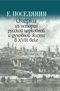 Обложка «Очерки из истории русской церковной и духовной жизни в XVIII веке»