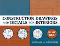 Обложка «Construction Drawings and Details for Interiors»