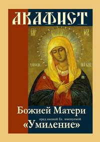 Обложка «Акафист Божией Матери пред иконой Ее, именуемой «Умиление»»