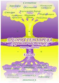 Обложка «Учебник развития сознания. Вопросы и ответы. Книга 1. Генодрево. Теория»