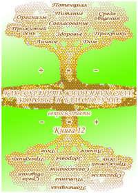Обложка «Учебник развития сознания. Вопросы и ответы. Книга 12. Как сохранить жизненную силу, здоровье и благополучие»