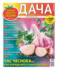 Обложка «Дача Pressa.ru 18-2019»
