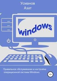 Обложка «Правильная настройка и обслуживание операционной системы Windows»