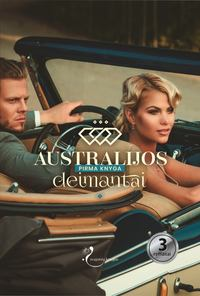 Обложка «Australijos deimantai. Pirma knyga»