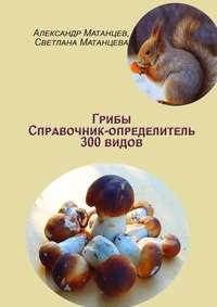 Обложка «Грибы. Справочник-определитель 300видов»
