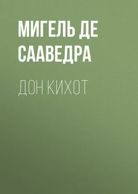 Обложка «Дон Кихот»