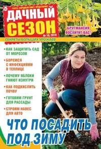 Обложка «Дачный Сезон – Советы Читателей 10-2019»