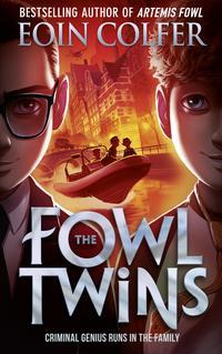 Обложка «The Fowl Twins»