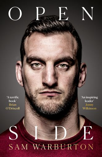 Обложка «Open Side: The Official Autobiography»