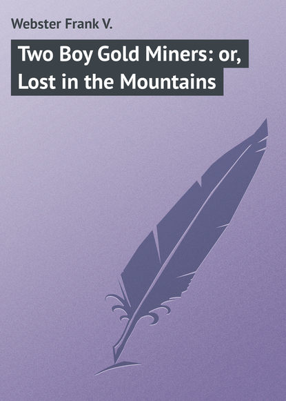 Webster Frank V. Two Boy Gold Miners: or, Lost in the Mountains
