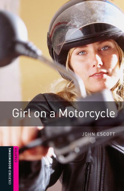 John Escott Girl on a Motorcycle