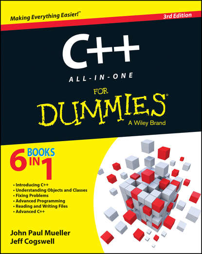 Jeff Cogswell C++ All-in-One For Dummies