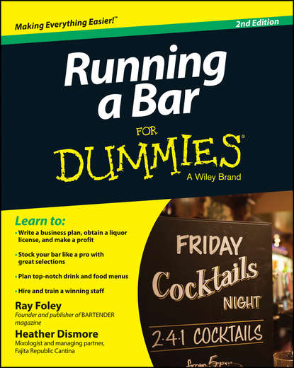 Ray Foley Running a Bar For Dummies виномер welcome to the home bar 2842386