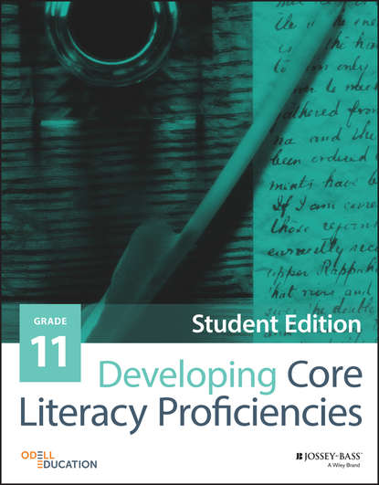 Odell Education Developing Core Literacy Proficiencies, Grade 11 sarah tantillo literacy and the common core recipes for action