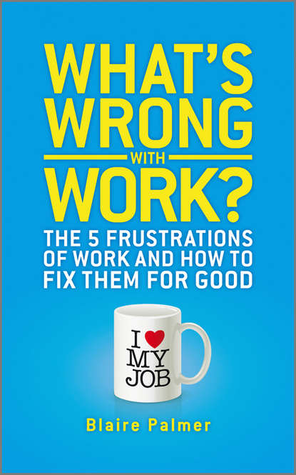 Blaire Palmer What's Wrong with Work?. The 5 Frustrations of Work and How to Fix them for Good