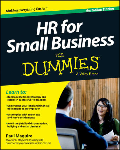 Paul Maguire HR For Small Business For Dummies - Australia paul lancaster small business marketing for dummies