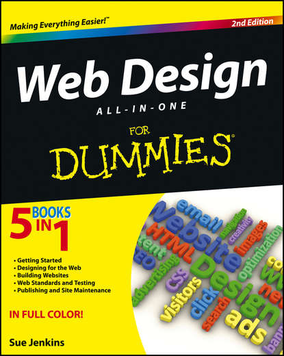 Sue Jenkins Web Design All-in-One For Dummies netscape r and the world wide web for dummies r