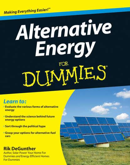 Rik DeGunther Alternative Energy For Dummies andrew swift wind energy essentials societal economic and environmental impacts