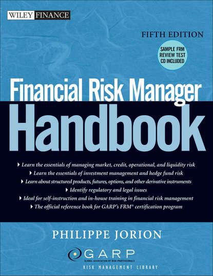 Philippe Jorion Financial Risk Manager Handbook fifth risk undoing democracy