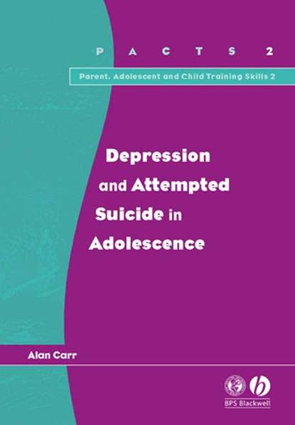 Alan Carr Depression and Attempted Suicide in Adolescents montgomery stuart a treatment resistant depression