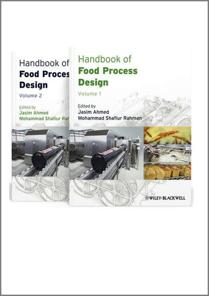 Rahman Mohammad Shafiur Handbook of Food Process Design, 2 Volume Set недорого