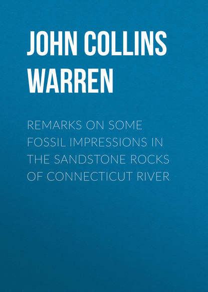 John Collins Warren Remarks on some fossil impressions in the sandstone rocks of Connecticut River anne collins john f kennedy
