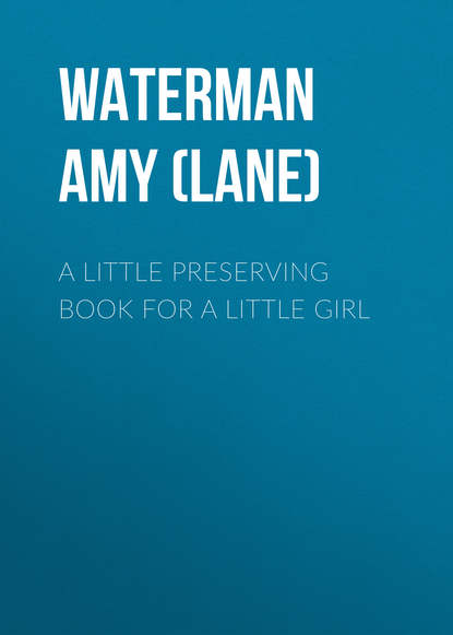 Waterman Amy Harlow (Lane) A Little Preserving Book for a Little Girl amy lane making promises