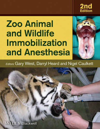 Gary West Zoo Animal and Wildlife Immobilization and Anesthesia patents and wildlife