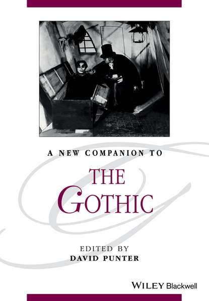 David Punter A New Companion to The Gothic david punter a new companion to the gothic