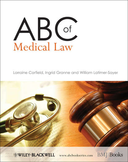 Lorraine Corfield ABC of Medical Law british association medical medical ethics today the bma s handbook of ethics and law