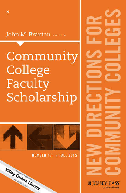 John M. Braxton Community College Faculty Scholarship. New Directions for Community Colleges, Number 171 debating the birth of community radio in bangladesh