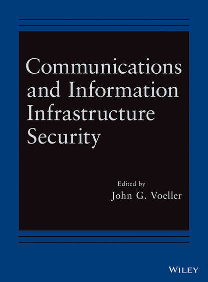 John Voeller G. Communications and Information Infrastructure Security john voeller g transportation security