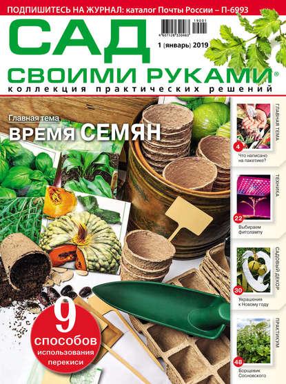 Группа авторов Сад своими руками №01/2019 недорого