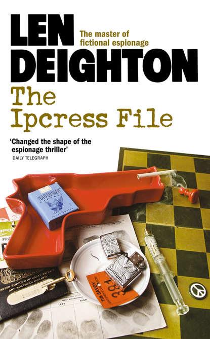 Len Deighton The Ipcress File len deighton spy line