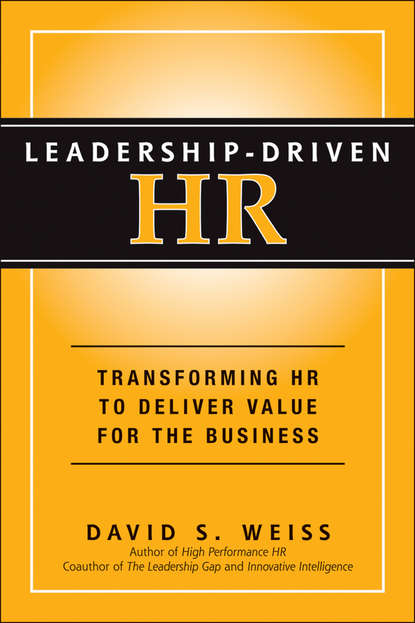 David Weiss S. Leadership-Driven HR david magellan horth leadership brand deliver on your promise